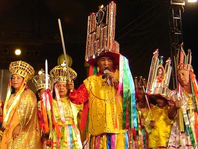Mestre da cultura popular alagoana: Juvenal Domingos. FONTE: Secretaria de Estado da Cultura de Alagoas (SECULT)