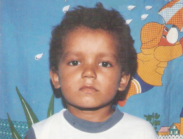Anobelino Martins aos 6 anos I Arquivo pessoal